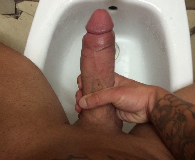Twink Jerking His 11in Thick Cock On Cam