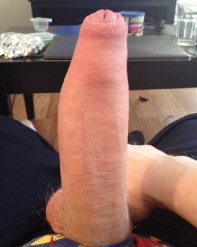 Delicious Looking Hard Uncut Dick - Nude Grindr Boys