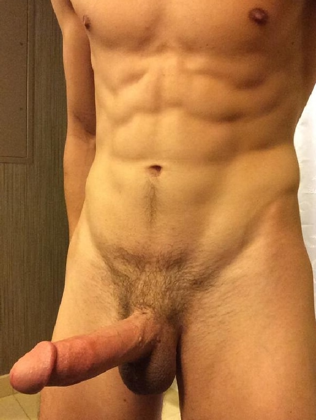 Nude Jock With A Rock Hard Cut Cock - Nude Grindr Boys