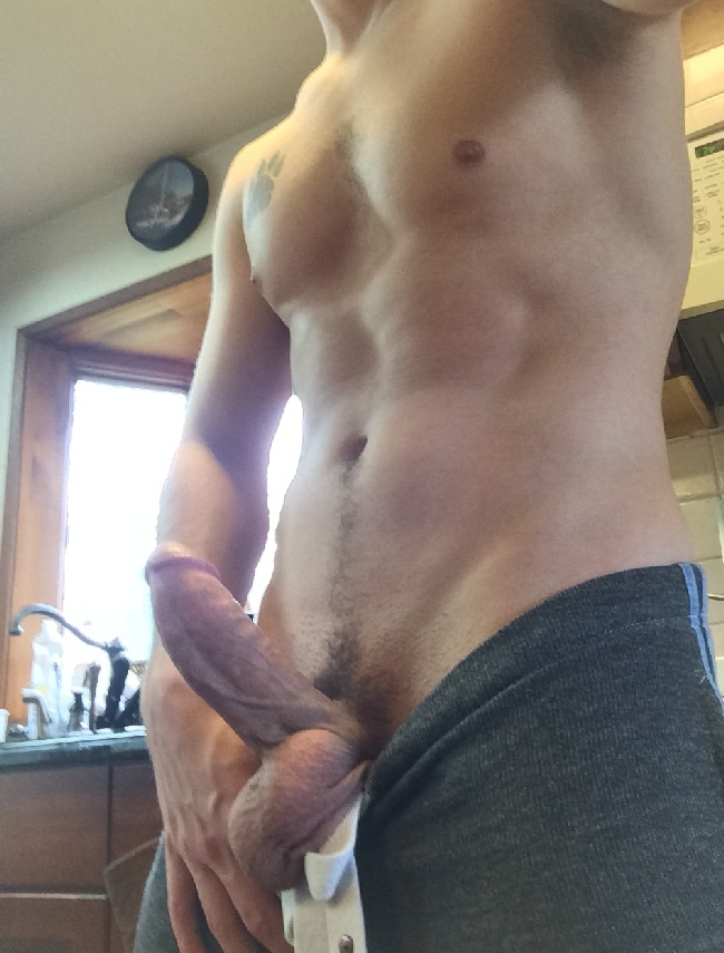 Fit Guy With A Thick Short Cut Penis - Nude Grindr Boys